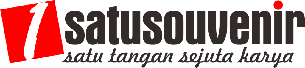 logo 1souvenir hitam
