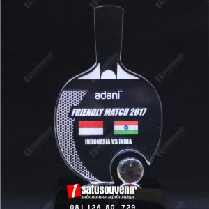 plakat akrilik adani friendly match