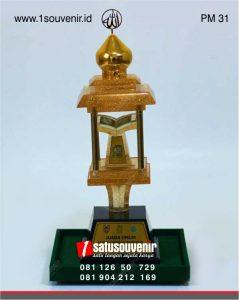 Desain Piala MTQ FASI kalimantan selatan
