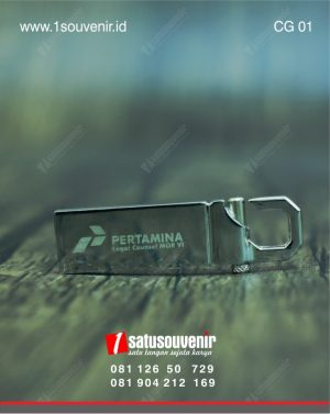 corporate gift flashdisk custom pertamina