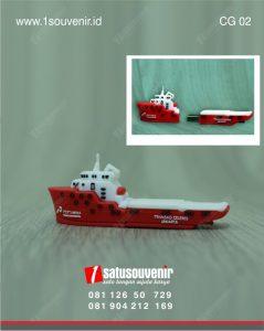 corporate gift kapal pertamina souvenir perusahaan