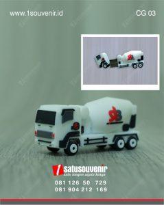 corporate gift truk flashdisk custom