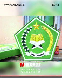 kerajinan kuningan logo departemen agama