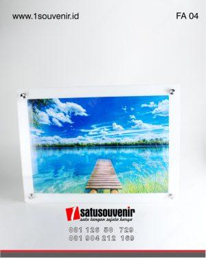 frame akrilik