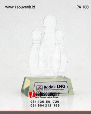 Plakat Akrilik Bowling Badak LNG
