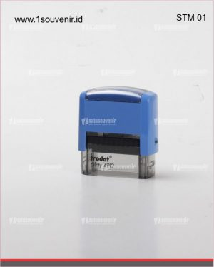 stempel warna trodac biru