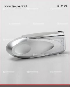 stempel warna horizontal silver