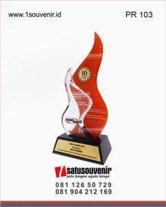 plakat resin transkom service award 2019
