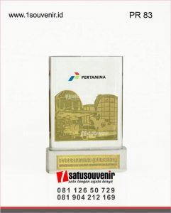plakat resin pertamina marketing operation region VI kalimantan
