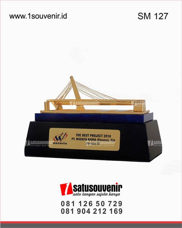 SM127 Souvenir Miniatur Jembatan Waskita The Best Project ...