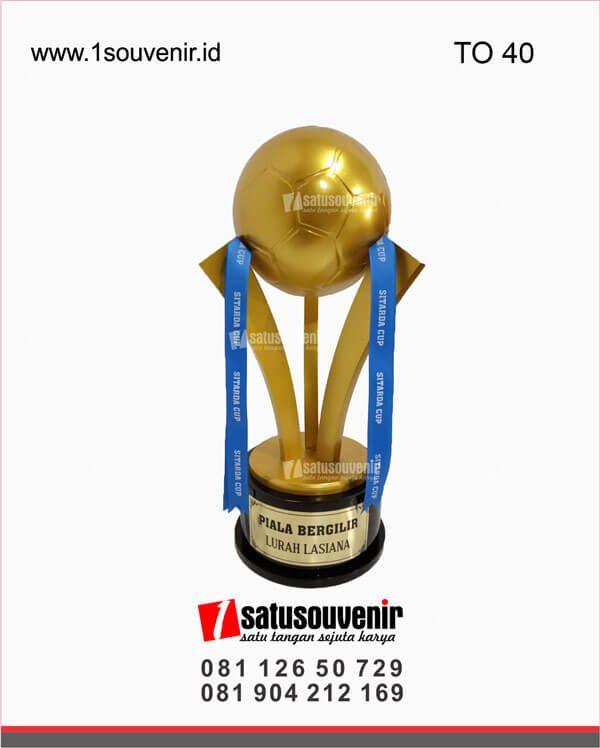 desain piala olahraga sitarda cup lurah lasiana