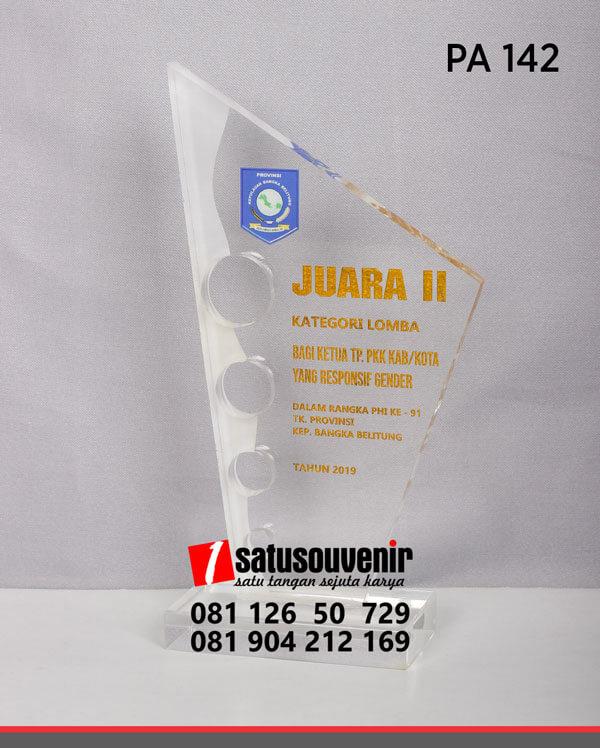 PA142 Plakat Akrilik Kepulauan Bangka Belitung