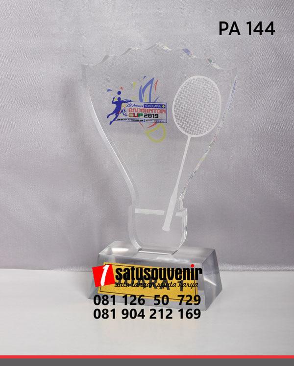 PA144 Plakat Akrilik Badminton Cup 2019