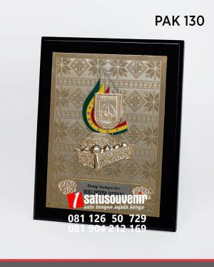 PAK130 Plakat Kayu Kenang Kenangan Walikota Dumai