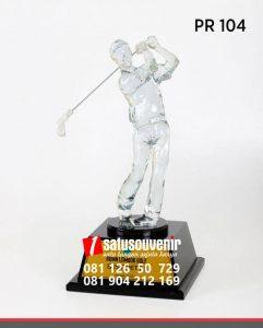 PR104 Plakat Resin Golf BUMN Lombok Golf plakat jogja