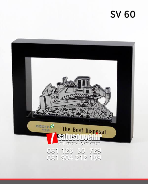 SV60 Souvenir Perusahaan Frame Adaro Mining
