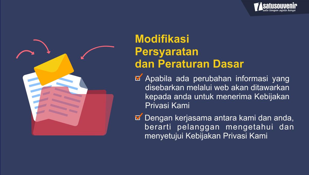 Modifikasi Persyaratan dan Peraturan Dasar 1
